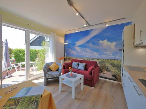 App 1 Wohnraum mit Zugang zur Terrasse